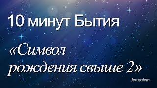 """10 минут Бытия - 008(Бытие 1:20) / """"Cимвол рождения свыше 2"""""""