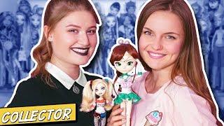 2 МИЛЛИОНА НА МОНСТРОВ! Коллектор: коллекция кукол Карины Маликовой   Интервью   Monster High