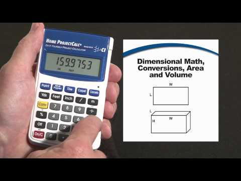 Home ProjectCalc - Dimensional Math and Conversions