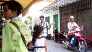 A Blind Guy Singing in Vietnam