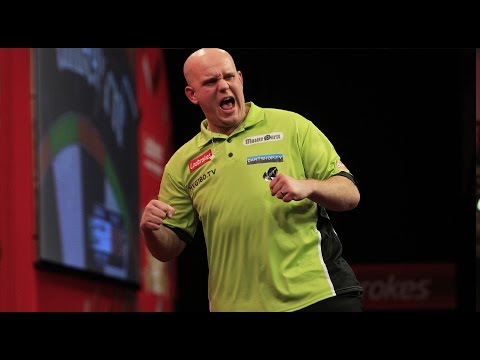 17 PERFECT DARTS! | Michael van Gerwen throws 17 perfect darts!