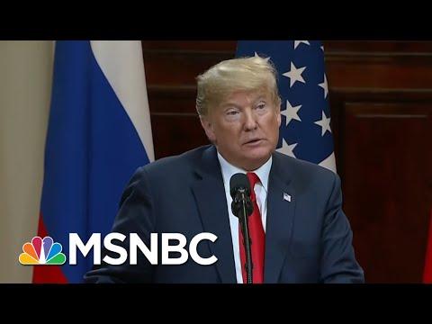 'Vladimir Putin Owns President Donald Trump And Both' Know It | Morning Joe | MSNBC