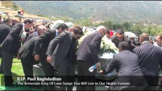 Paul Baghdadlian The King Of Armenian Love Songs: In Loving Memory.