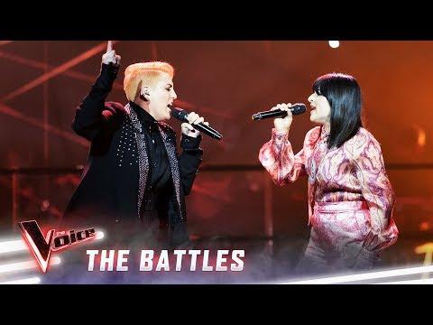 The Battles: Kim v Chynna 'Never Tear Us Apart' | The Voice Australia 2019