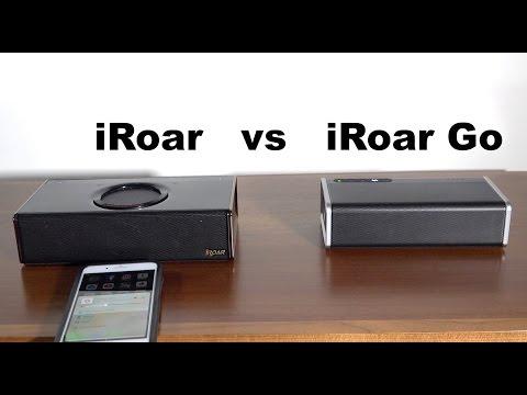 Creative iRoar vs Creative iRoar Go - Sound Test
