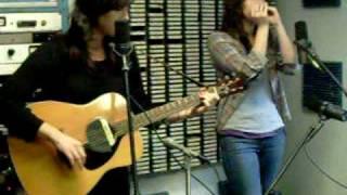 The Watson Twins - Just Like Heaven, at WNRN