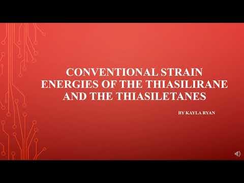 Conventional Strain Energies of Thiasilirane and Thiasiletanes