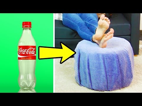 20 SIMPLE DIY FURNITURE IDEAS FROM EVERYDAY ITEMS