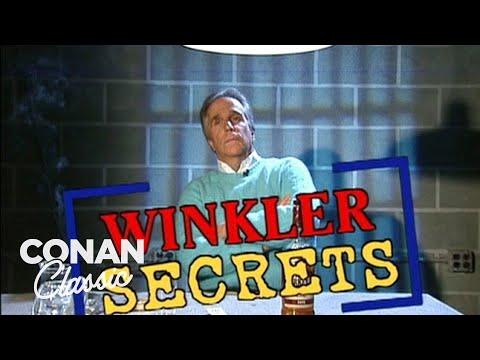 "Celebrity Secrets: Henry Winkler Edition - ""Late Night With Conan O'Brien"" (видео)"
