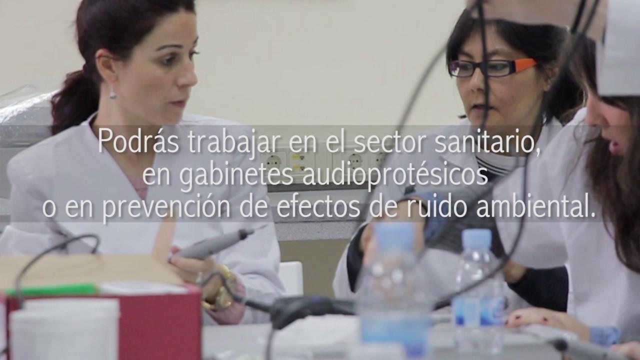 FP Grado Superior Audiología Protésica