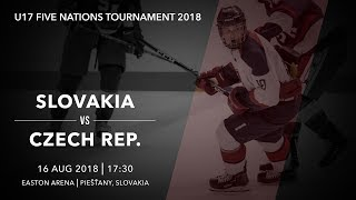 U17 5 Nations Tournament 2018   Slovakia – Czech Republic