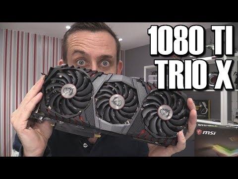 MSI GTX 1080 Ti Gaming X Trio Review