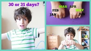 Cool tricks: How to remember how many days are in each month using your hands