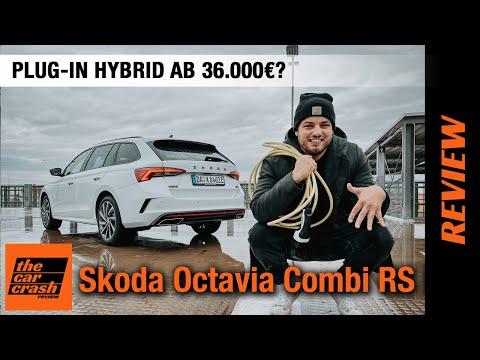 2021 Skoda Octavia Combi RS iV (245 PS) 🔋 Plug-in Hybrid ab 36.000€? 🤯 Fahrbericht   Review   Test