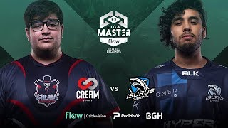 Cream Esports VS Isurus Gaming | Jornada 13 | Liga Master Flow