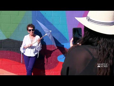 Meet The Senior Style Icons Taking Over Social Media | NBC Nightly News (видео)