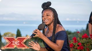 Rai Elle Williams Goes Big With Somebody That I Used To Know | Judges' Houses | The X Factor 2017
