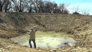 Digging A Horse Pond Watering Hole - Or How To Bury a Barn Witch