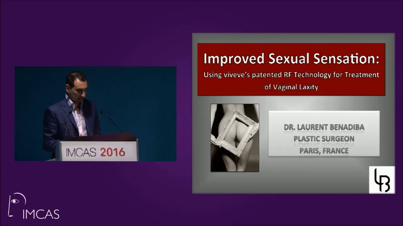 IMCAS - Dr Benadiba - Improved sexual sensation