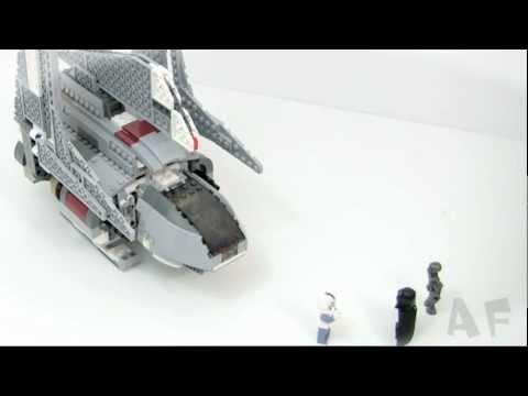 Vidéo LEGO Star Wars 8096 : Emperor Palpatine's Shuttle