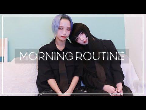 国際ゲイカップルのリアルな朝!【モーニングルーティーン】/Morning routine(Gay couple Vlog #1)/ENG & ITA SUB