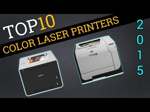 Top Ten Color Laser Printers 2015 | Best Color Laser Review
