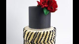 Elegant Buttercream Ruffle Cake- Rosies Dessert Spot