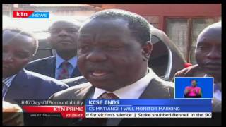KTN Prime: Education CS is pleased with the way the KCPE examinations were conducted this year