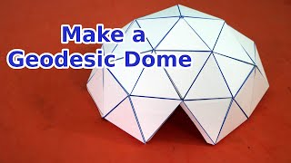 Easy To Make Geodesic Dome