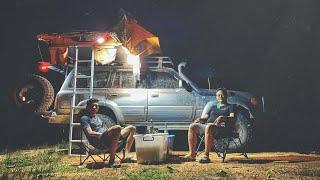 ១ វង្វេងផ្លូវទៅដល់ទឹកធ្លាក់មួយ Off-Road Car Camping trip get Lost/Part1