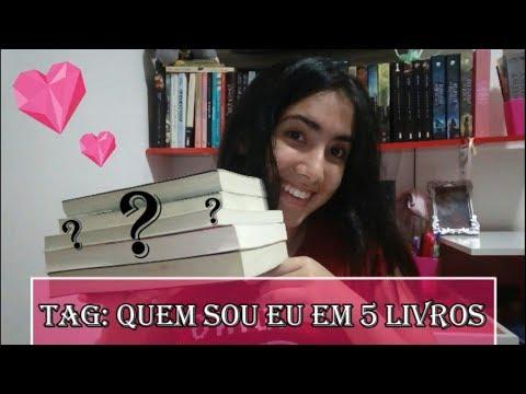 TAG QUEM  SOU EU EM 5 LIVROS | Leticia Ferfer | Livro, Livro Meu