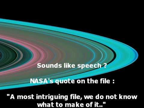 Alien Speech? Found in NASA's Saturn Radio Signal