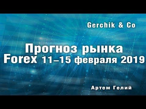 Прогноз форекс на неделю: 11.02.2019 - 15.02.2019