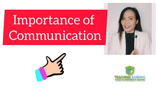 Get to know the importance of communication| SHS Introduction to Oral Communication In Context