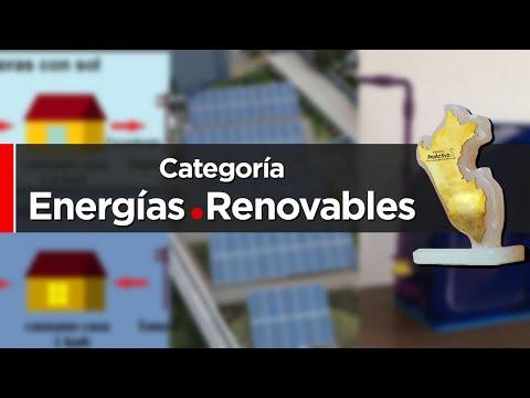 Participantes Categoría Energías Renovables