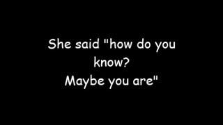 Maybe You Are - Asaf Avidan Lyrics ( Paroles)