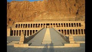 Египет - Храм Хатшепсут, река Нил