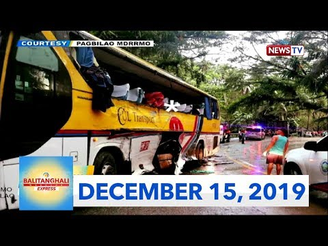 Balitanghali Weekend Express: December 15, 2019 [HD]