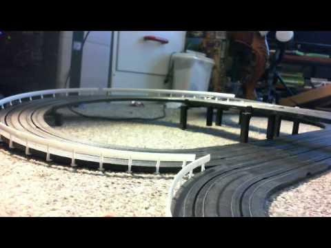 American Highway Slot car track