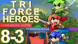 Soluce Tri Force Heroes : Niveau 8-3