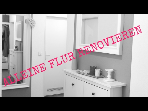 ICH renoviere ALLEINE den FLUR | Streichen für ANFÄNGER | Daily Vlog | Insight