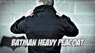Batman Heavy Peacoat Review | Hero Within | Geek Fashion