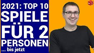 Meine Top 10 besten 2 Personen Brettspiele 2021 (bis jetzt) - Gute Spiele für zwei Spieler