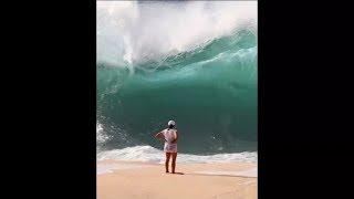 Смотреть онлайн Приколы про большие волны