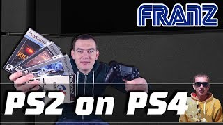 ЗАПУСК PS2 ИГР НА PS4