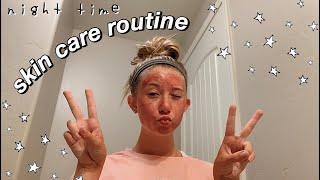 night time skin care routine | CeraVe + The Ordinary + etc...