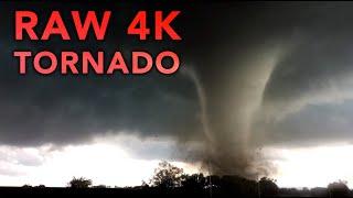 4K Raw Elmore City/Katie, OK Tornado