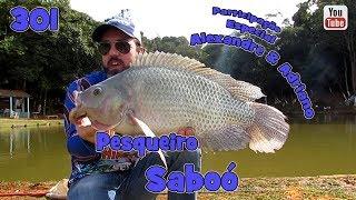 Programa Fishingtur na TV 301 - Pesqueiro Saboó