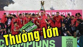ĐT Việt Nam được thưởng bao nhiêu sau khi vô địch AFF Suzuki Cup 2018