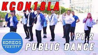 [KPOP IN PUBLIC] KCON18LA Public Dance Set 2 - Shine + Love U + Clap